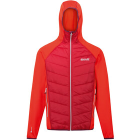 Regatta Andreson IV Hybrid Jacket Men burnt salmon/delhi red
